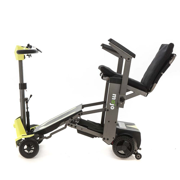 Mojo 4 Wheel Foldable Travel Mobility Scooter – 21 St. Weight Capacity