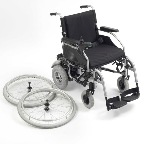 Gemini 2-in-1 Aluminium Powerchair & Wheelchair