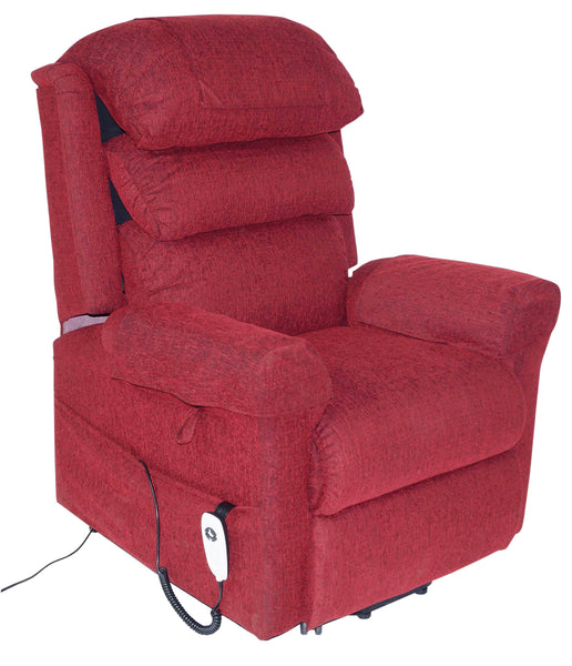 Ecclesfield Wall Hugging, Chenille Material Single Motor Rise and Recliner Chair