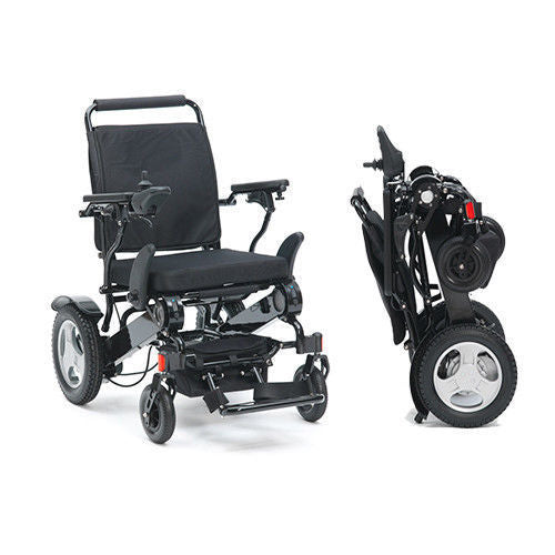 Mobility Solutions Direct Electric Lightweight Folding Wheelchair (Lithium Ion Batteries)