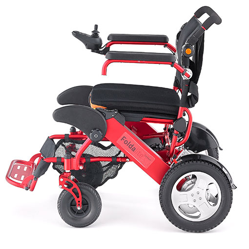 Foldalite Trekker Automatic Folding Lightweight Powerchair