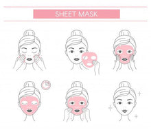Bio-Magnetic Functional Sheet Mask with Hyaluroic Acid & Rose Serum | Contains 3 Reusable Masks - Dreambox Beauty LLC