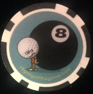 Eight Ball Golf Chip