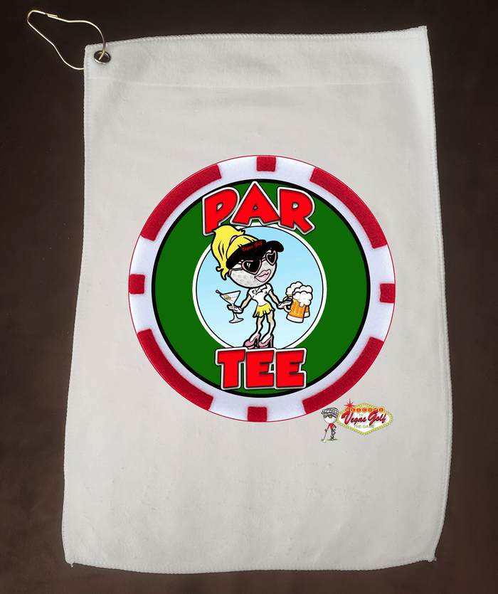 NEW!  PAR TEE Vegas Golf Character Towel
