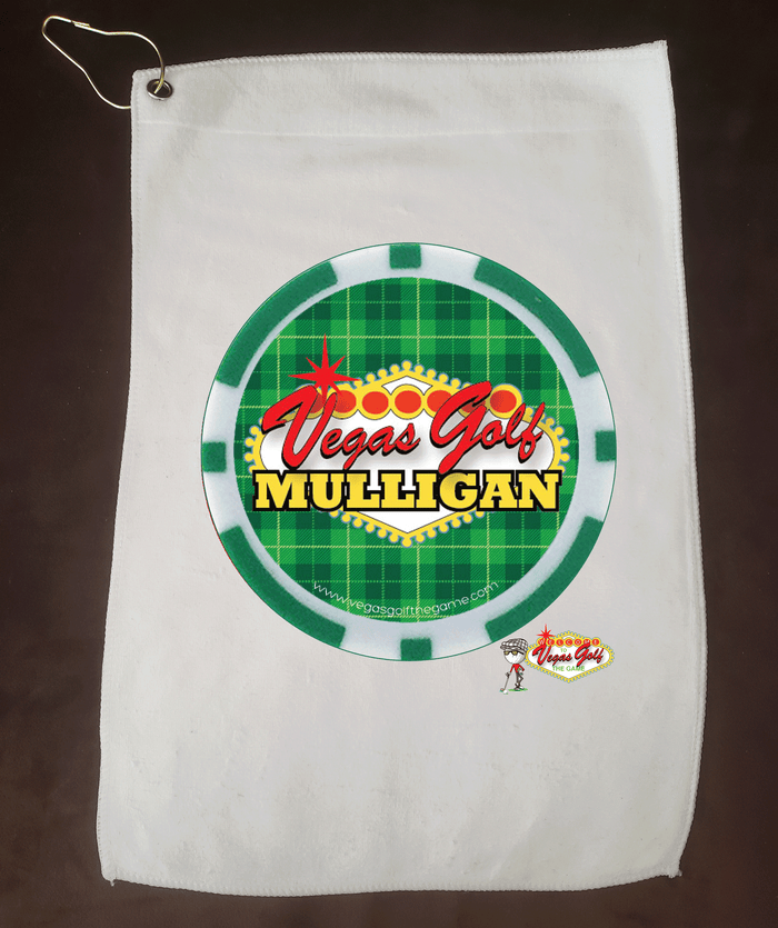 Vegas Golf Mulligan Golf Towel