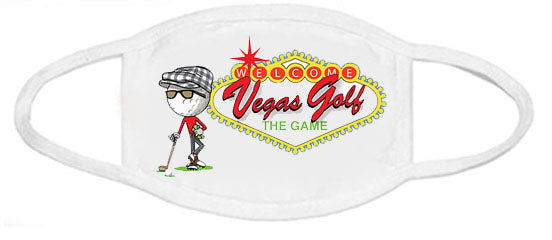 2-Ply Face Mask Vegas Golf Logo