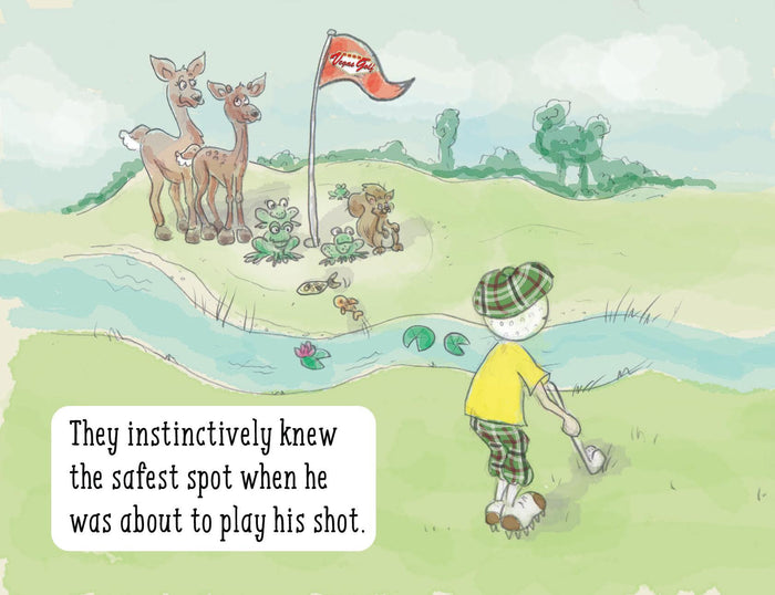 Funny Golf Instinctively