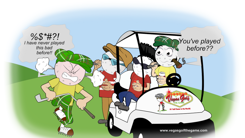 Funny You Played Before Ecard Vegas Golf Game