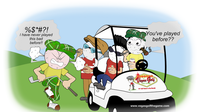 Free Holiday Ecards Vegas Golf Gamerhvegasgolfgame Funny Cart Cartoons At Carts