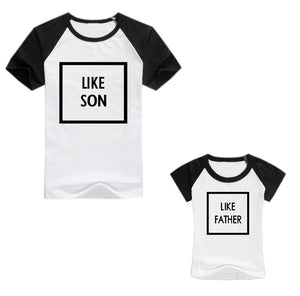 Like Father/Mother Graphic Tee - Match it! Family Boutique