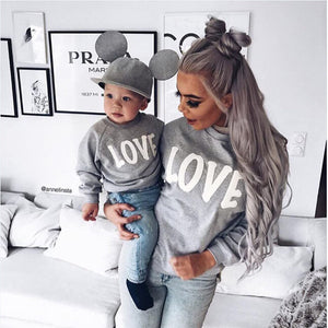 Love Graphic Sweater - Match it! Family Boutique