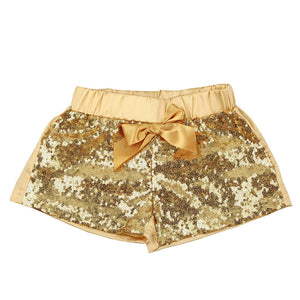 Girl Sequin Shorts - Match it! Family Boutique