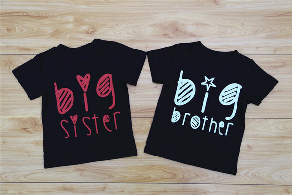 Sibling Matching Word Print T-shirt - Match it! Family Boutique