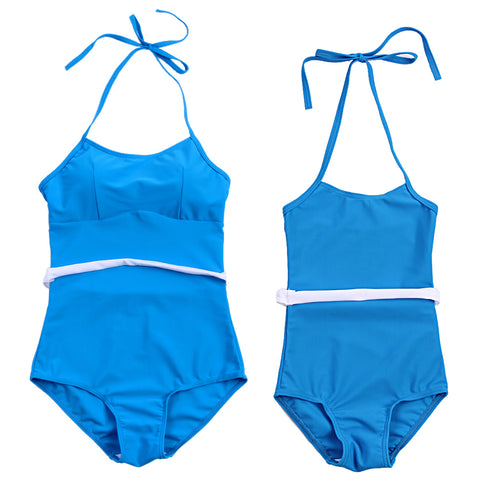 One-piece Halter Mom and Daughter Swimwear - Match it! Family Boutique