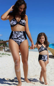 Mother And Daughter 2pcs Printed Swimwear (2 Styles) - Match it! Family Boutique