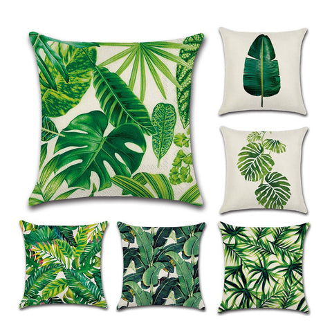 Green Thumb Throw Pillow Case