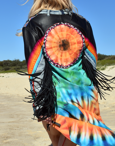 Sun Splendour Matrix Coat