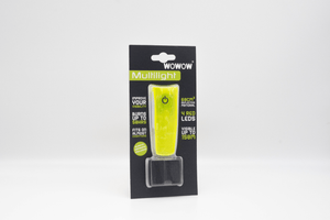 "WOWOW - WEARABLE LED LIGHT WITH VELCRO FASTENING: YELLOW: ""MULTILIGHT"""