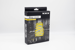 "WOWOW - BACKPACK / BAG COVER - REFLECTIVE & HI VISIBILITY / YELLOW: ""BERLIN"""