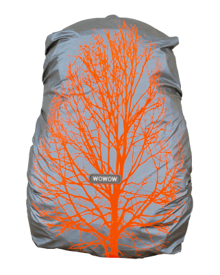 WOWOW - BACKPACK / BAG COVER - FULLY REFLECTIVE & WATERPROOF: