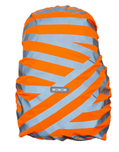 "WOWOW - BACKPACK / BAG COVER - REFLECTIVE & HI VISIBILITY / ORANGE: ""BERLIN"""