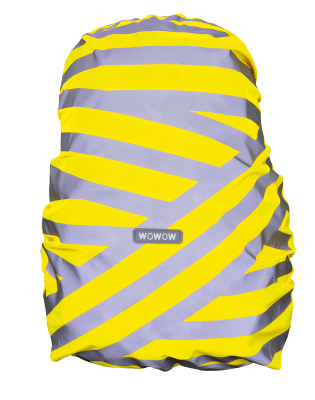 WOWOW - BACKPACK / BAG COVER - REFLECTIVE & HI VISIBILITY / YELLOW: