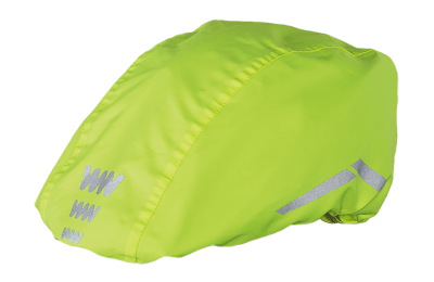 Wowow Cycle Helmet Rain Cover: Yellow