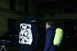WOWOW Reflective Wear - Bag Cover - Urban Street - FULLY REFLECTIVE