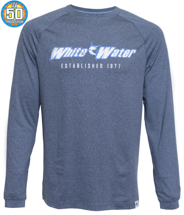 White Water Life On The Edge Performance LS Tees