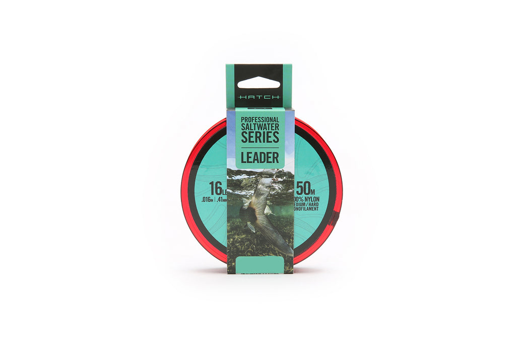 Hatch Professional Saltwater Series Med/Hard Monofilament Leader