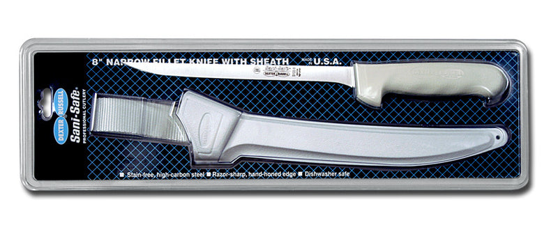 Dexter Russell Sani-Safe Narrow Fillet Knives with Sheath