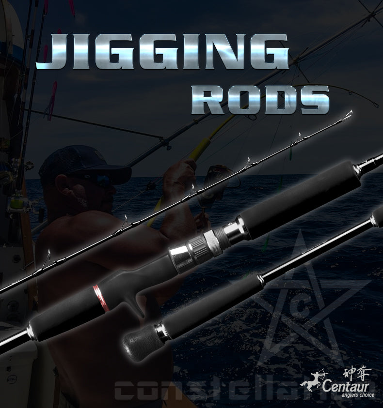 Centaur Constellation Conventional NEW GENERATION Jigging Rods