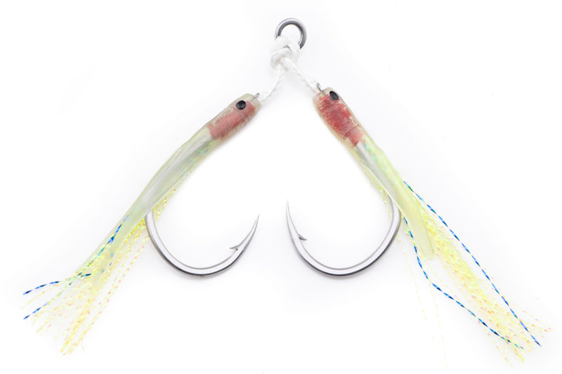 Centaur Light Jigging Dual Assist Hooks