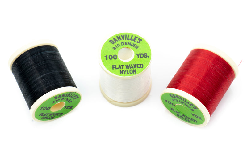 Danville Flat Waxed Nylon Thread