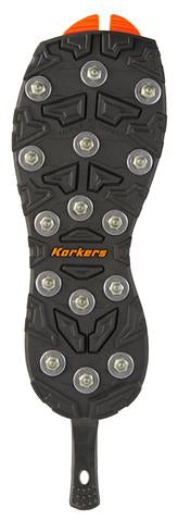 Korkers OmniTrax Triple Threat Carbide Spike Sole
