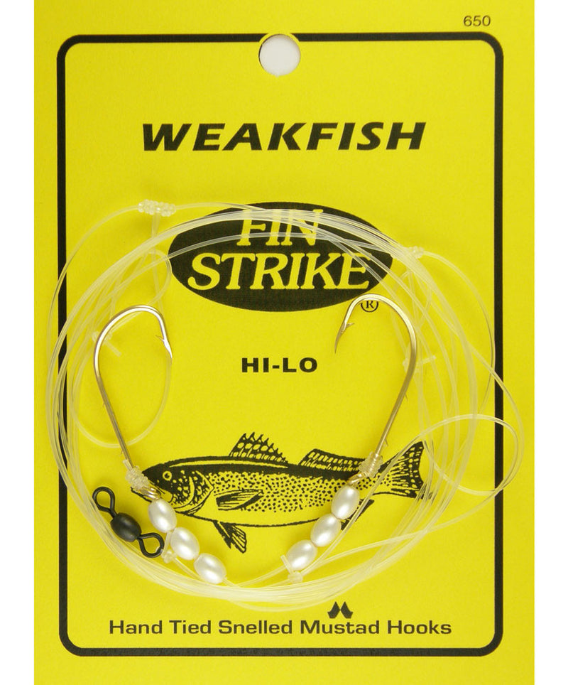 Fin Strike 650 Hi-Lo Weakfish Rig