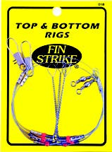 "Fin Strike 018 18"" Wire Top & Bottom Hi-Lo Rigs"