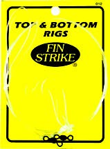 Fin Strike 014 Heavy Nylon Top & Bottom Hi-Lo Rigs