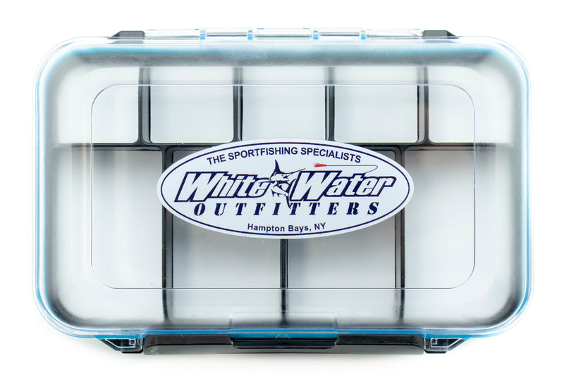 White Water Magnetic + Foam Slot Double-Sided Waterproof Fly Boxes