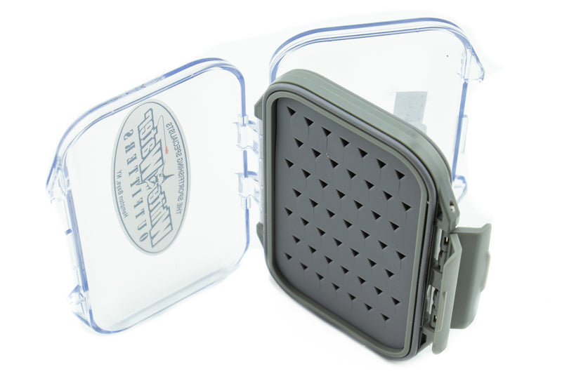 White Water Silicone Insert Double-Sided Waterproof Fly Boxes