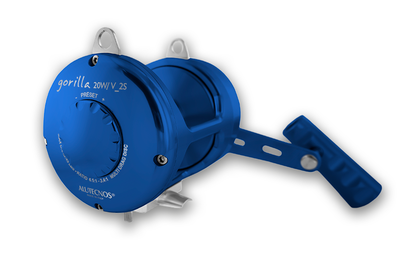 Alutecnos Gorilla 2-S Two Speed Conventional Reels