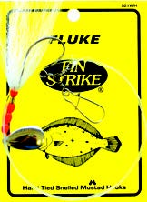 Fin Strike MU521WH Ultra Point Circle Hook Fluke Rig