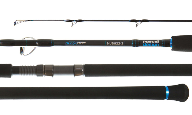 Nomad Design Heavy Jig Spinning Rods