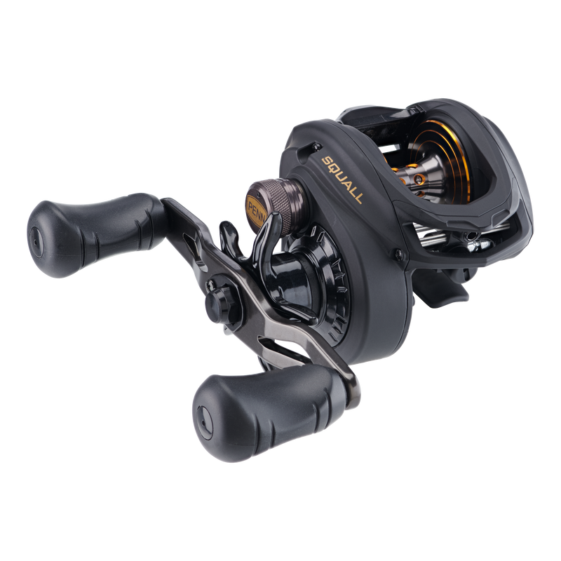 Penn Squall Low Profile Baitcasting Conventional Reels