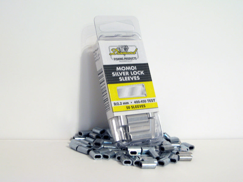 Momoi Silver Lock Aluminum Crimp Sleeves