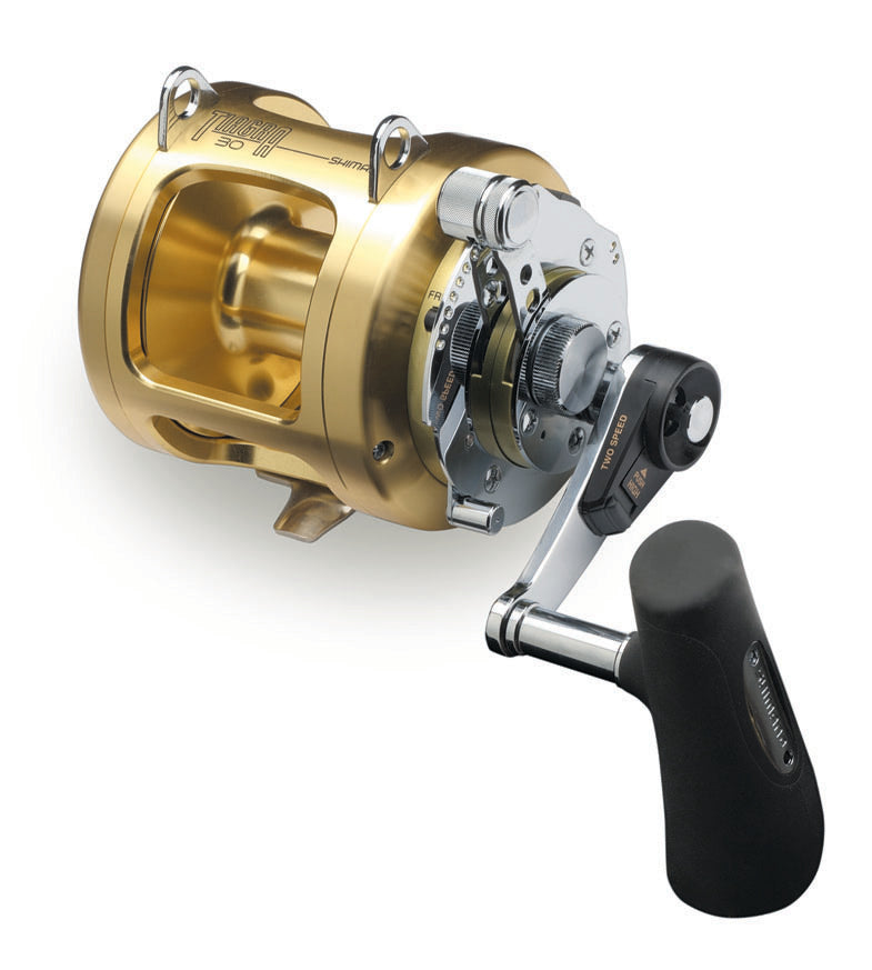 Shimano Tiagra A Two-Speed Lever Drag Conventional Reels