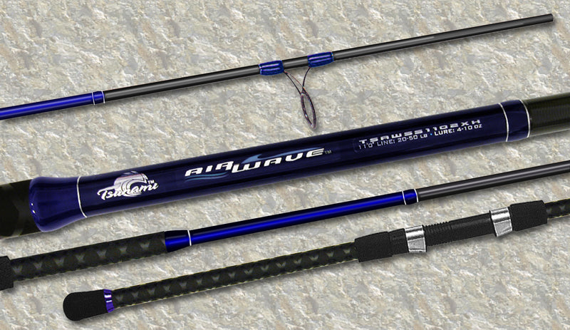 Tsunami Airwave Surf Spinning Rods