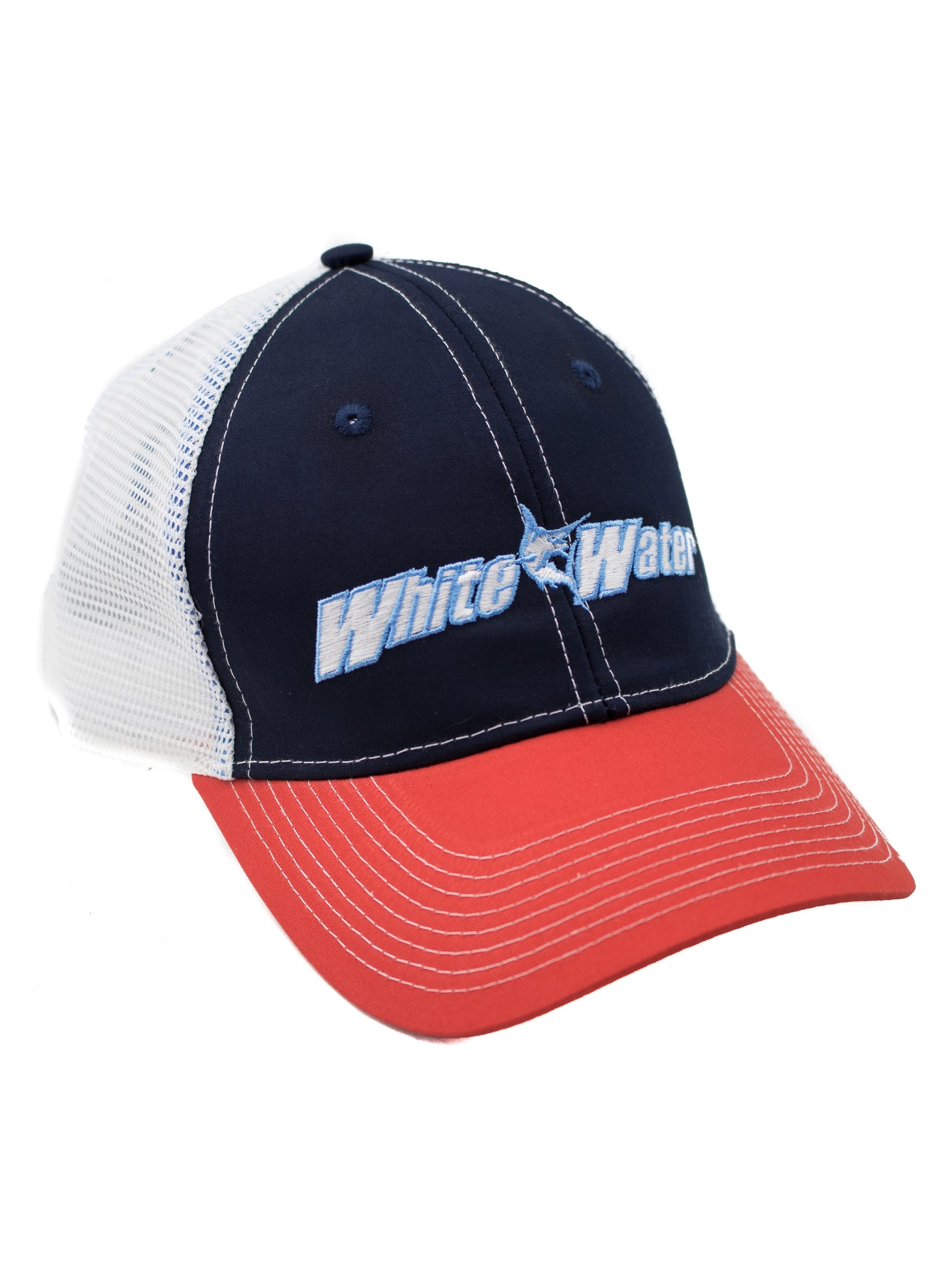 b724a5648b8 White Water Life American Trucker Hat – White Water Outfitters