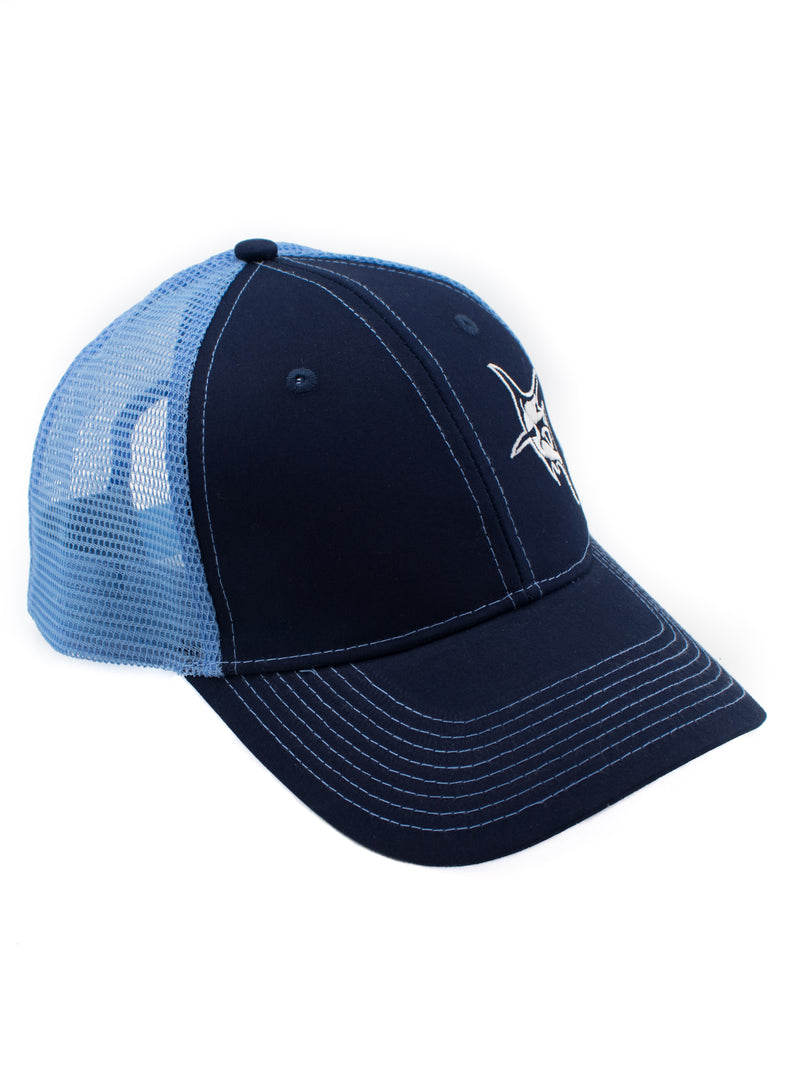 White Water Life Marlin Trucker Hat