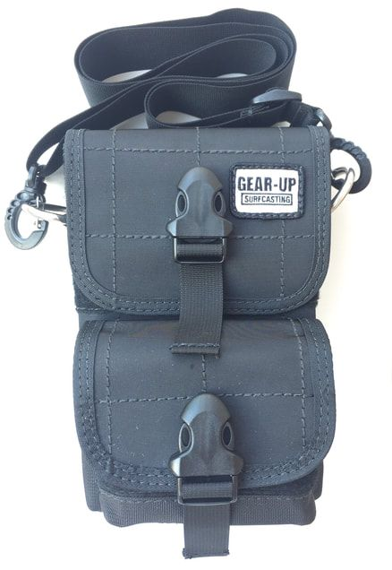 Gear-Up Surfcasting 2 Tube Bag with Front Pouch